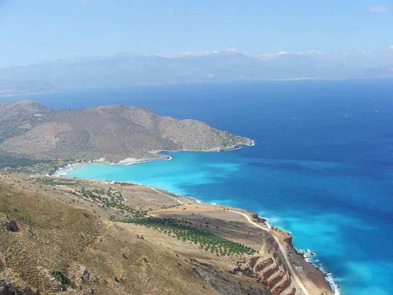 Blick auf die Mirabello-Bucht