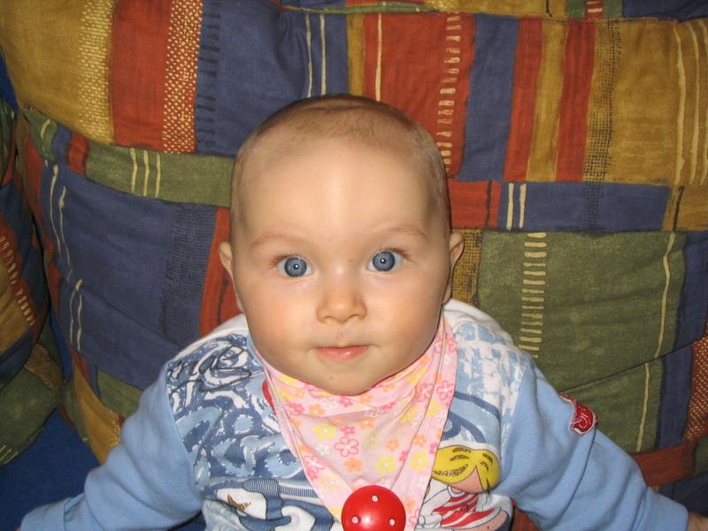 so schöne blaue Augen . . .