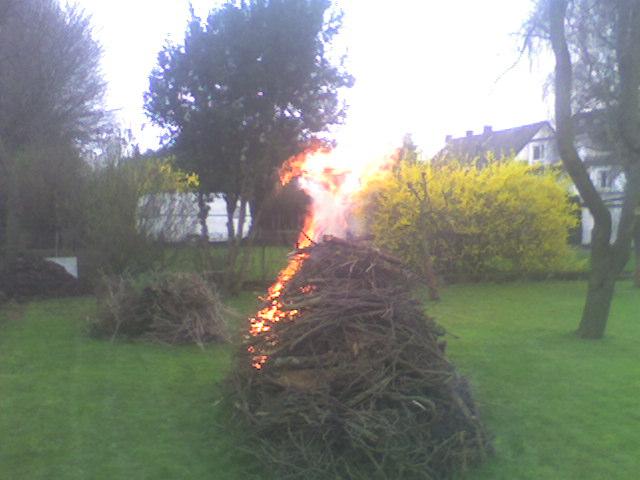 Am Anfang war die Flamme ....