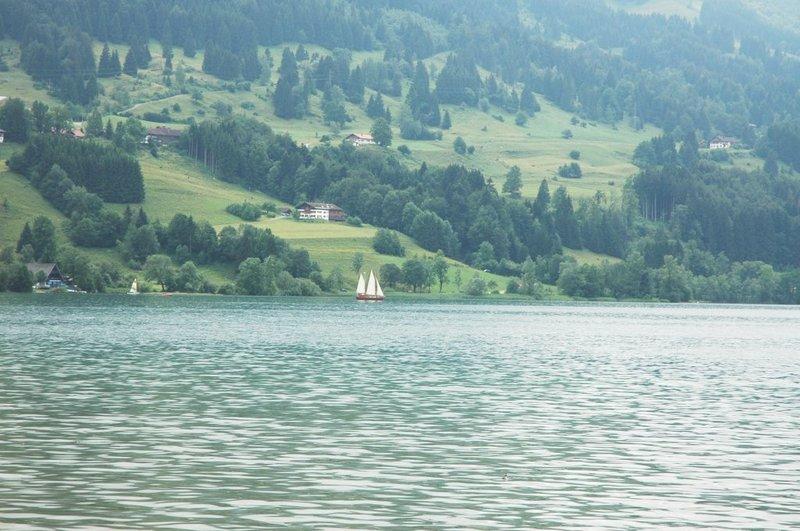 Alpsee 28 (Die Santa Maria Loreto vom Ufer aus)