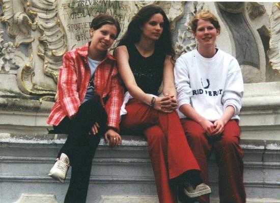 Klassenfahrt Trier 2000