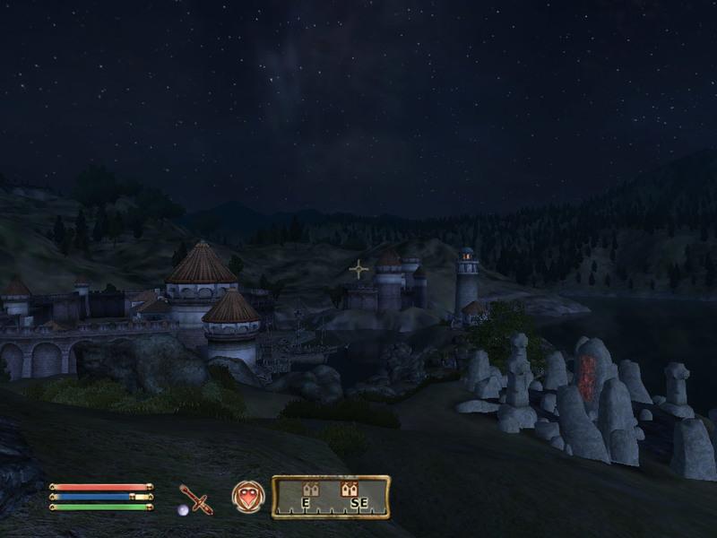 Blick auf Anvil bei Nacht, eine Erinnerung an dieses wunderbare Spiel (1024x768)