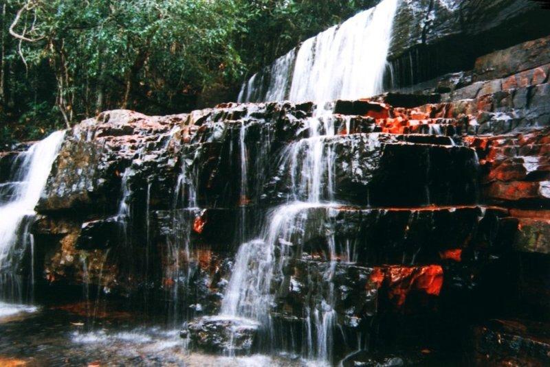 Der Jaspis-Wasserfall in der Gran Sabana / Venezuela