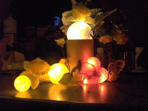 Beleuchtete Dekoration (Schnuckenhuck)