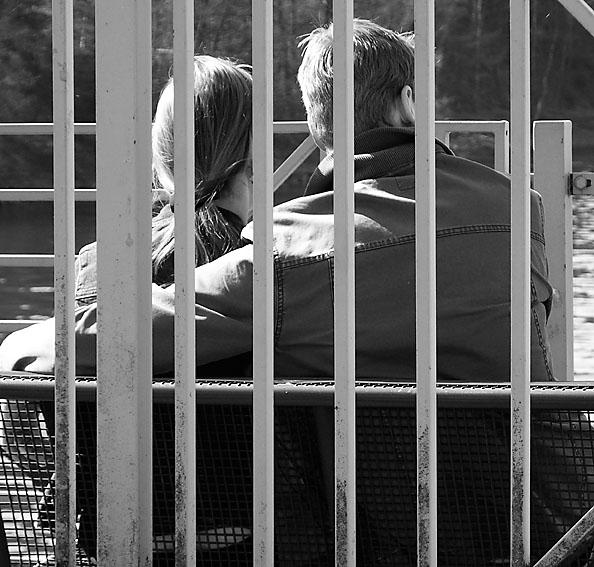 """Das ist jetzt symbolisch! Der schönste """"Käfig"""", den es wohl gibt."""