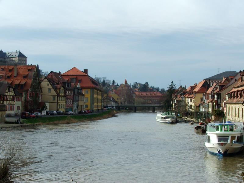 Die Kanäle von Bamberg