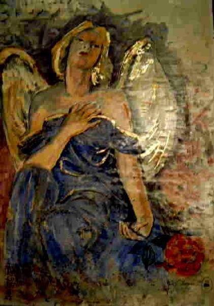 Engel in blau 01