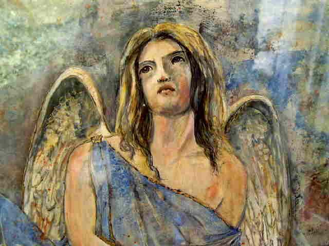 Engel in blau 02