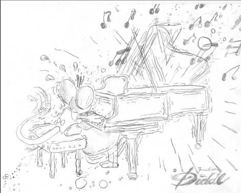 Diddl Klavier