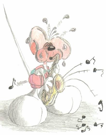 Diddl Saxophon