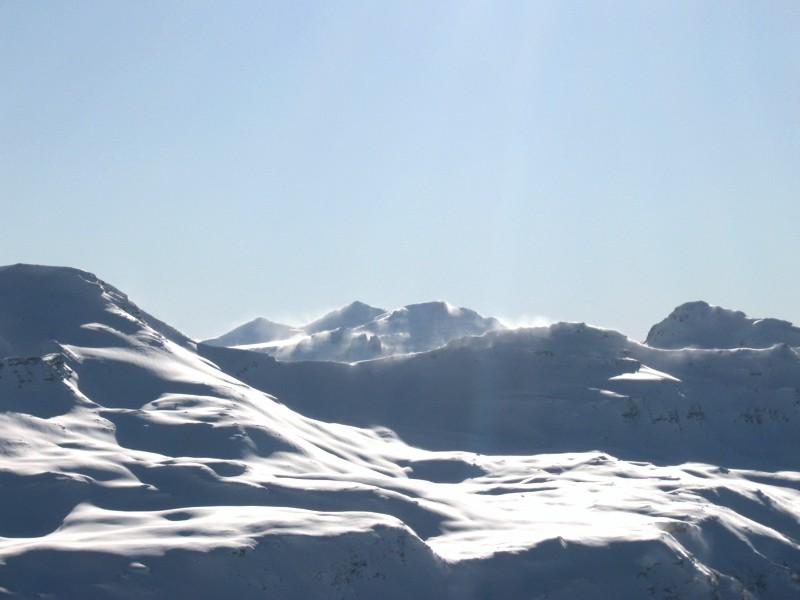 Bündner Berge um Piz Grisch im Sturm
