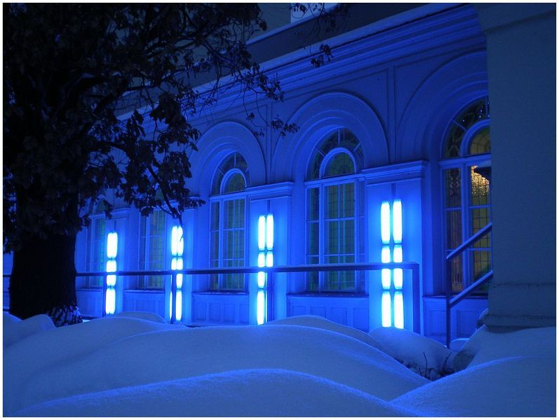 Hamburger Bhf., Blaues Licht