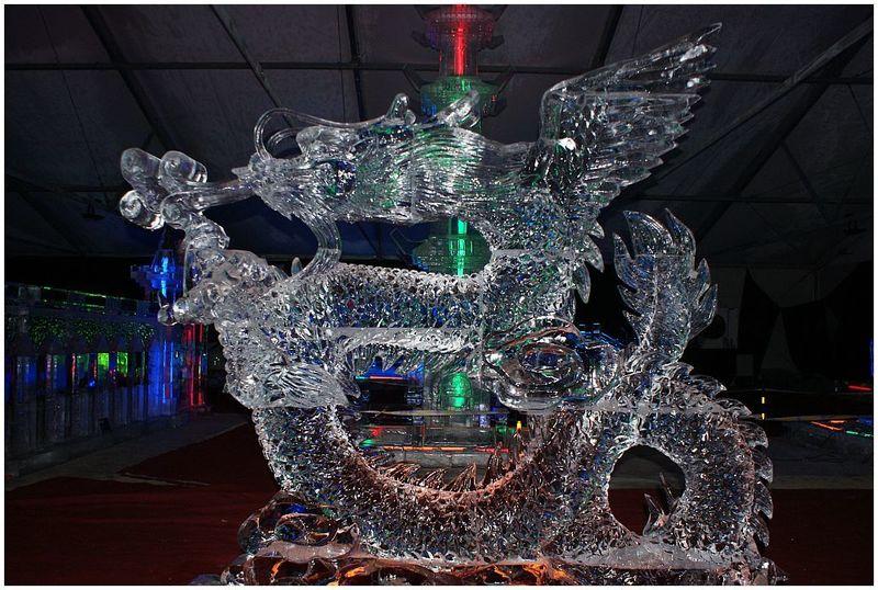 Bln. , Chin.  ICE_ART - Drache