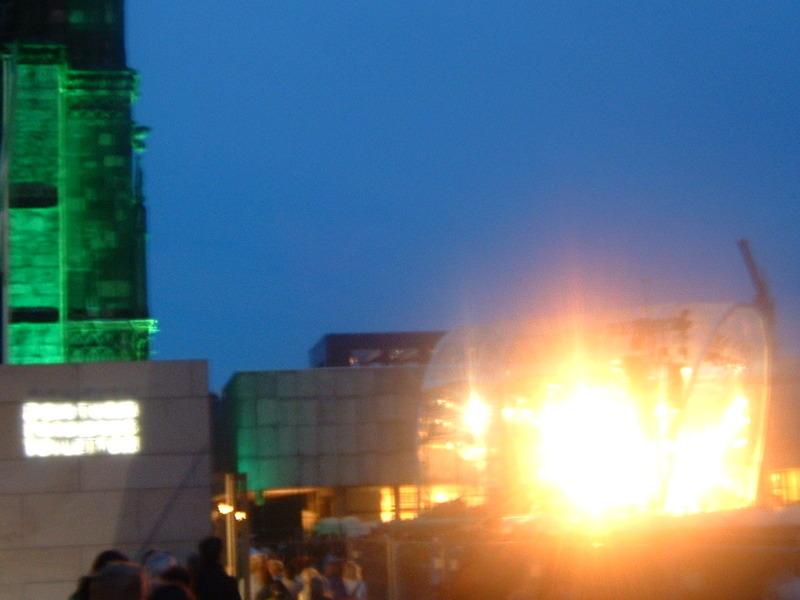 Feuerwerk vor dem Dom