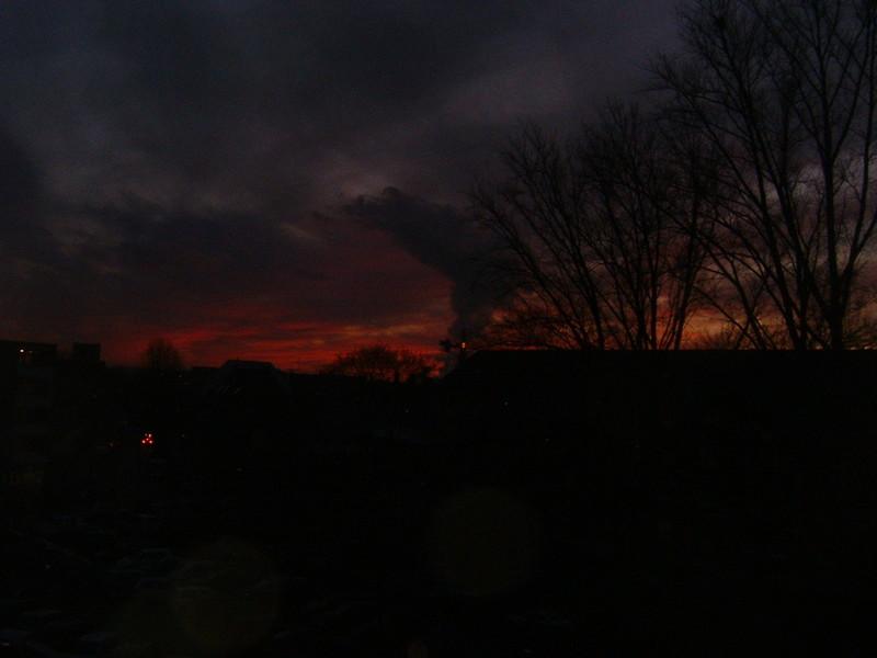 hinter dem Horizont