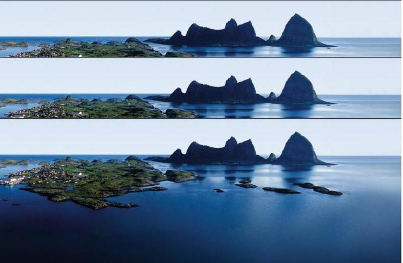 da...wird eine Insel sein...oder...mehr meer