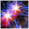 kleines Feuerwerk