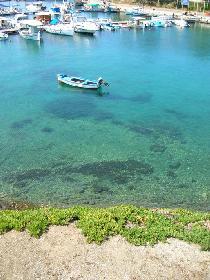 Boot im Hafen von Neos Marmaras - Griechenland 2005