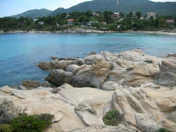 Felsen von Vouvourou - Griechenland 2005