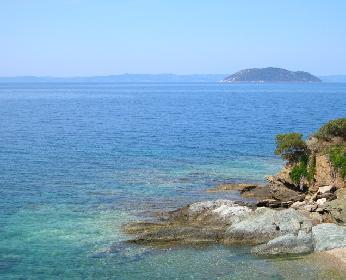 Küstenlandschaft - Griechenland 2005