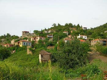 Verlassenes Dorf - Griechenland 2005