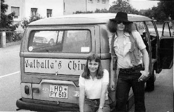 Legendäres Hippie-Foto von vor ca. 30 Jahren