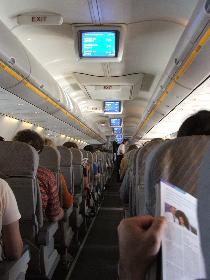 Im Flugzeug (31.08.2005)