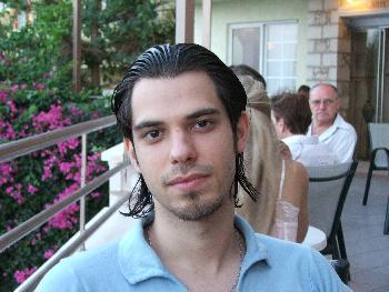 Im Hotel beim Essen (03.09.2005)