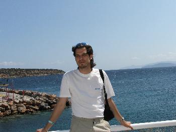 Am Hafen von Agios Nikolaus (04.09.2005)
