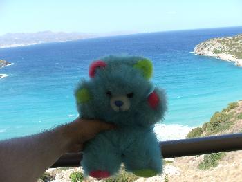 Chrissi am Mittelmeer