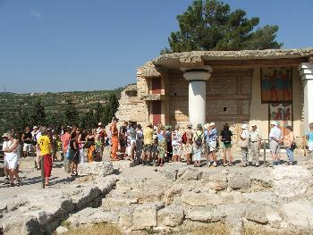 Ausgrabungsstätte Palast von Knossos 2
