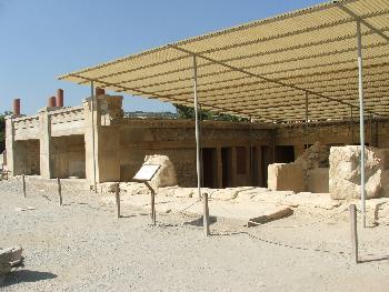 Ausgrabungsstätte Palast von Knossos 3