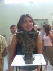 Keramikvase aus der minoischen Zeit (Archäologisches Museum Heraklion)