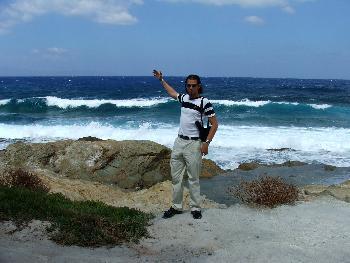 Mensch sind die Wellen hier hoch (11.09.2005)