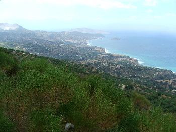Die Nordost-Küste Kretas