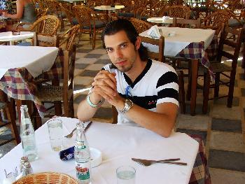 Im Restaurant (Sitia, 11.09.2005)