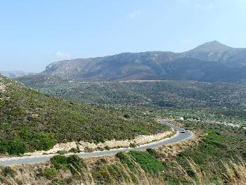 Typische Kreta-Landschaft