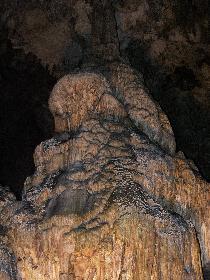 Steinformationen in der Melidoni-Höhle
