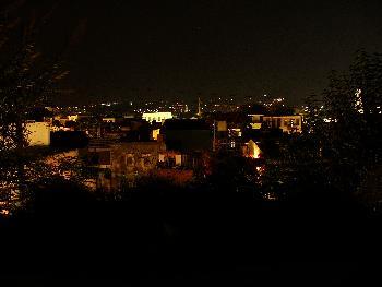 Über den Dächern von Chania bei Nacht