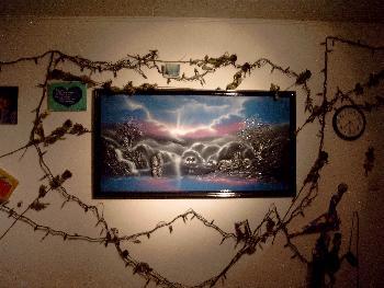 Meine romantische Wand in meinem alten Zimmer ;)