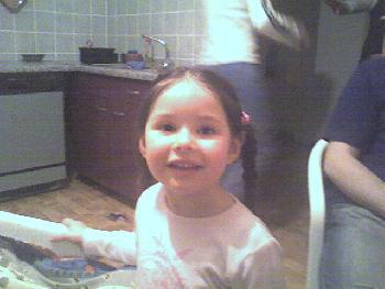 meine kleine Groß-Cousine Lizia