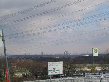 Ein Blick auf die Skyline von Köln :)