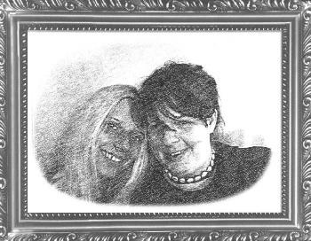 Meine Mum und ich