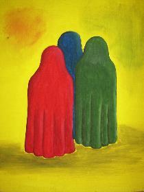 Drei Farben (Acryl)