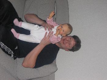 Pa und meine Süße