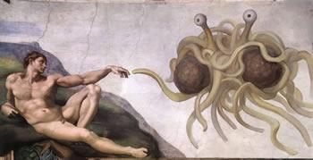 das fliegende spaghettimonster