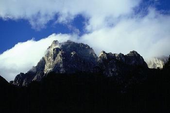 Alpenmassiv in Südtirol