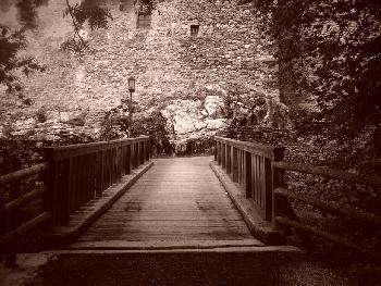 SoManyTears: Kaprun - Brücke / Sepia