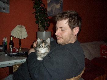 Pitti und sein kleines Mädchen