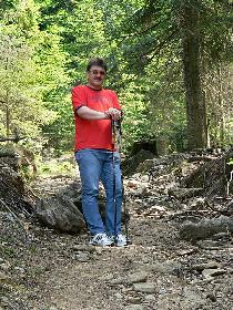 Wanderung  15.6.2006  zum Osser